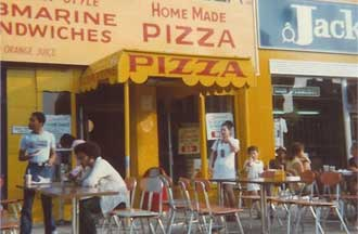 first boston pizza shop